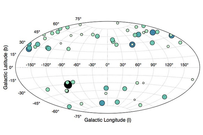 Galaxy Map: Here Are the Milky Way's Red Dwarfs