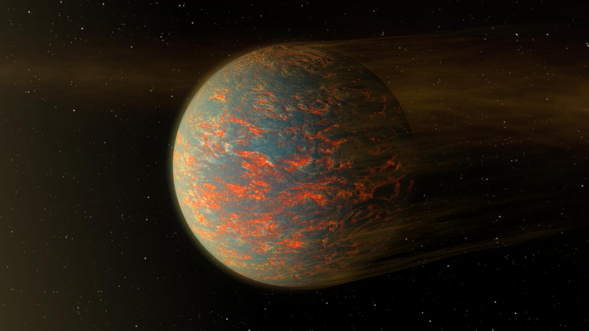 Weird, Oozing Super-Earth Planet Has Hot Nights, Even Hotter Days