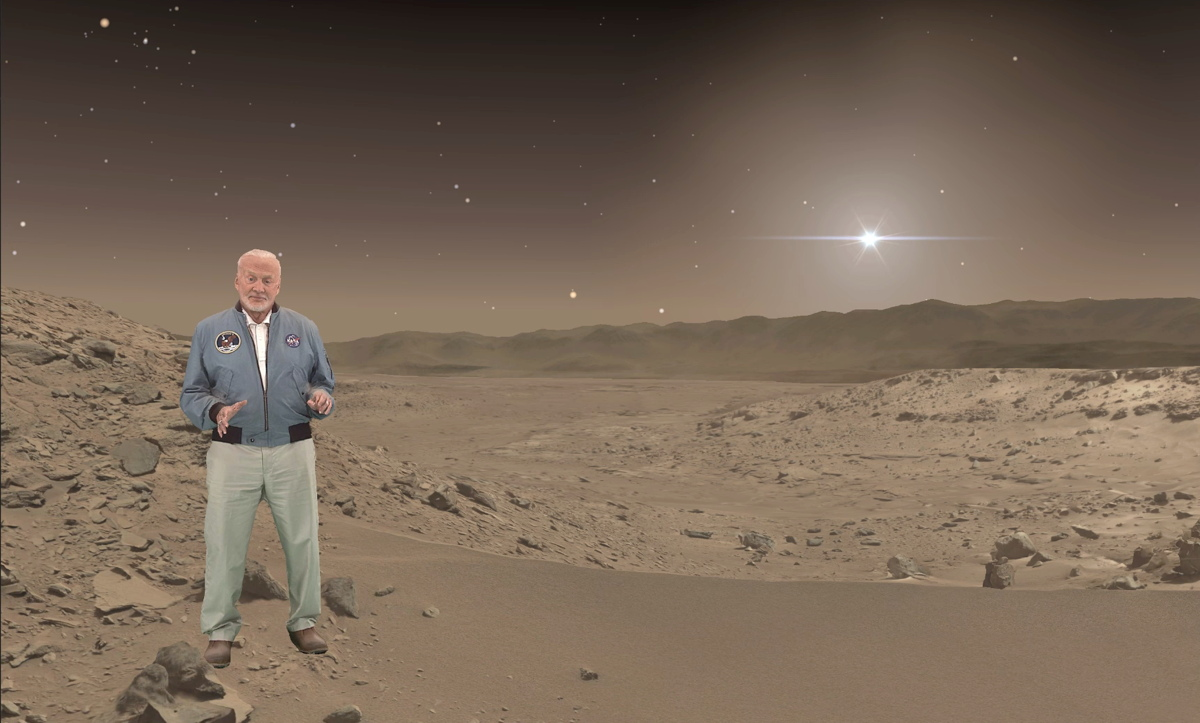 Buzz Aldrin in 'Destination: Mars'