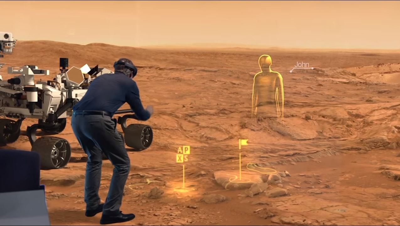 Virtual Tour of Mars