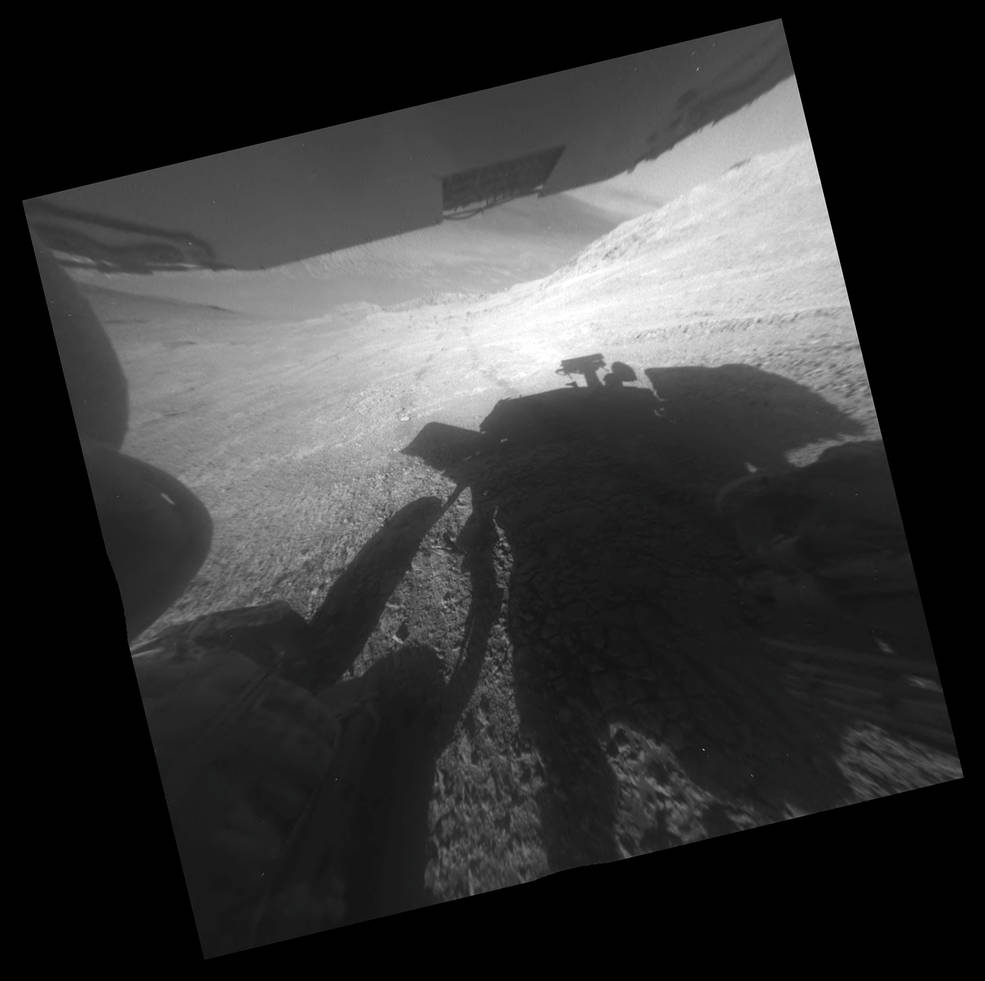 Rover Takes on Steepest Slope Ever Tried on Mars