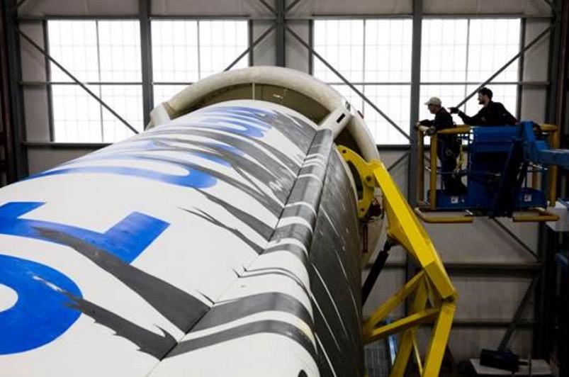 Blue Origin's New Shepard Rocket