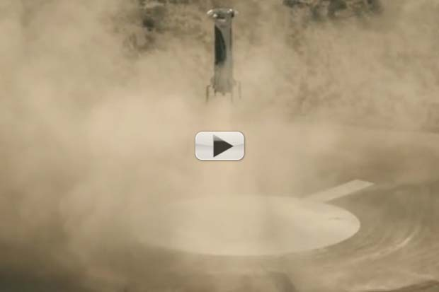 Blue Origin Rocket Comes In Hot, Nails Landing | Video