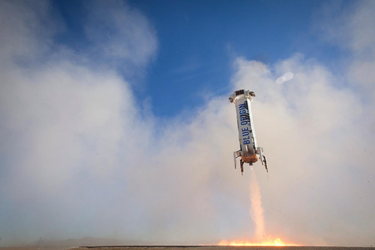 Blue Origin's BE-3 Engine Restart