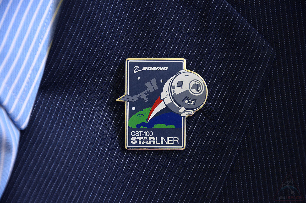 CST-100 Starliner Pin