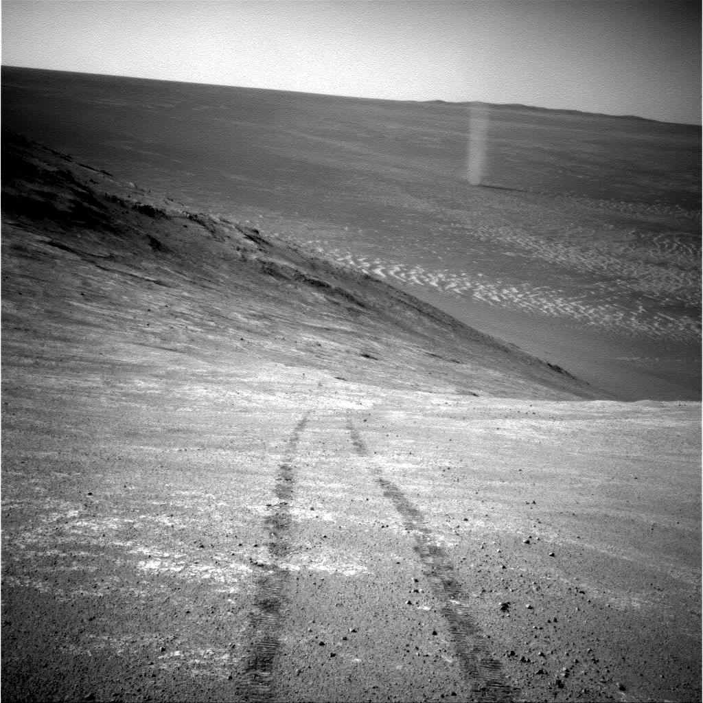 NASA's Opportunity Mars Rover Tracks