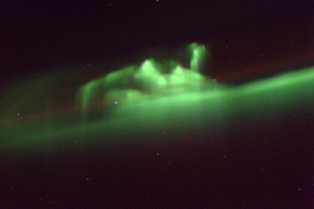 You've Got an Unusual Aurora Over You, Canada