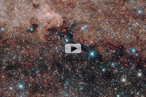 A Sea Of Stars Crowds Our Galaxy's Core (feat. Grace Potter's 'Stars') | Video