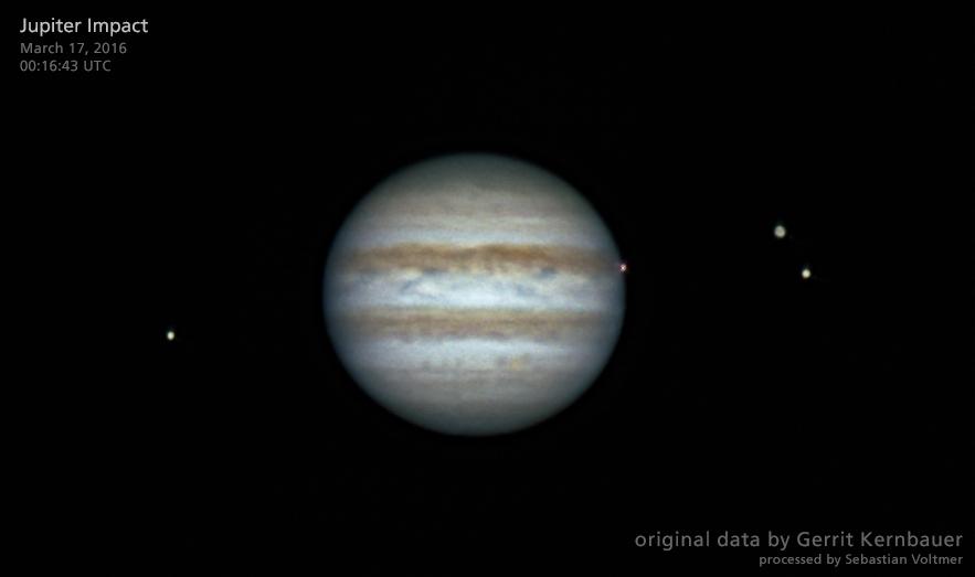 Slam! Bright Jupiter Impact Seen in New Light (Photo)