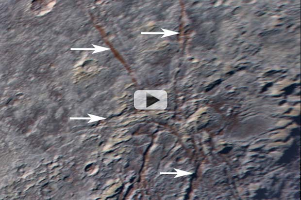Pluto's 'Spider' Fractures May Be Unique | Video