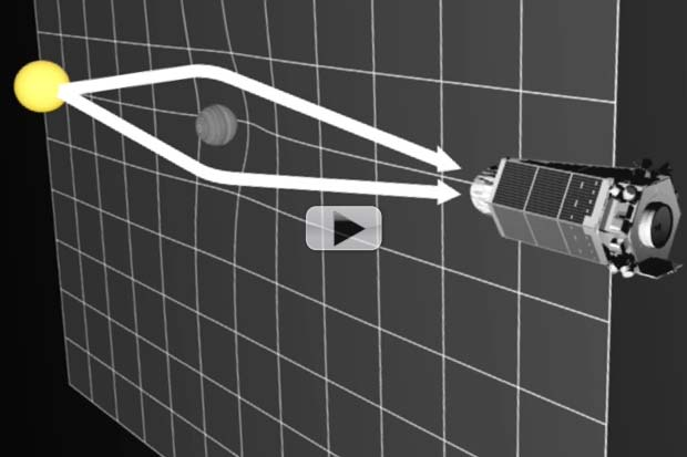 Orphaned Exoplanets Hunted By Seeking Bent Starlight | Video