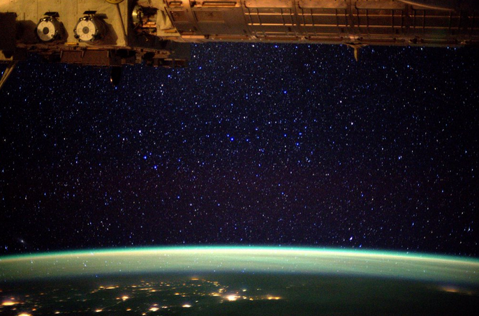 ESA Astronaut Tim Peake Snaps Skies Over Earth