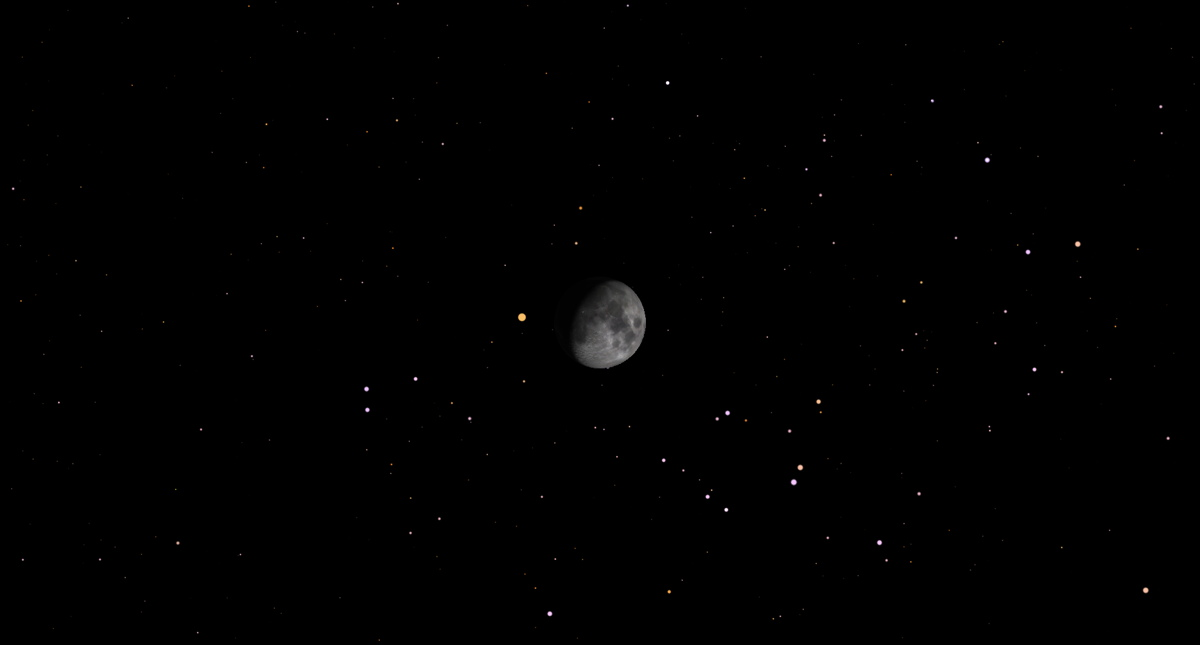 March 4 - Occultation of Aldebaran