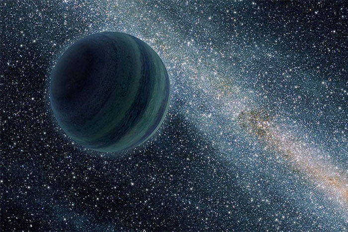 """An orphaned or """"rogue"""" planet"""