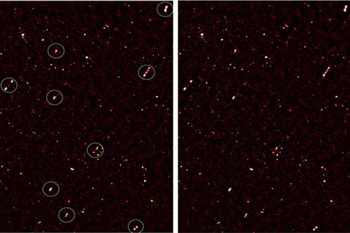 Bizarre aligned black holes