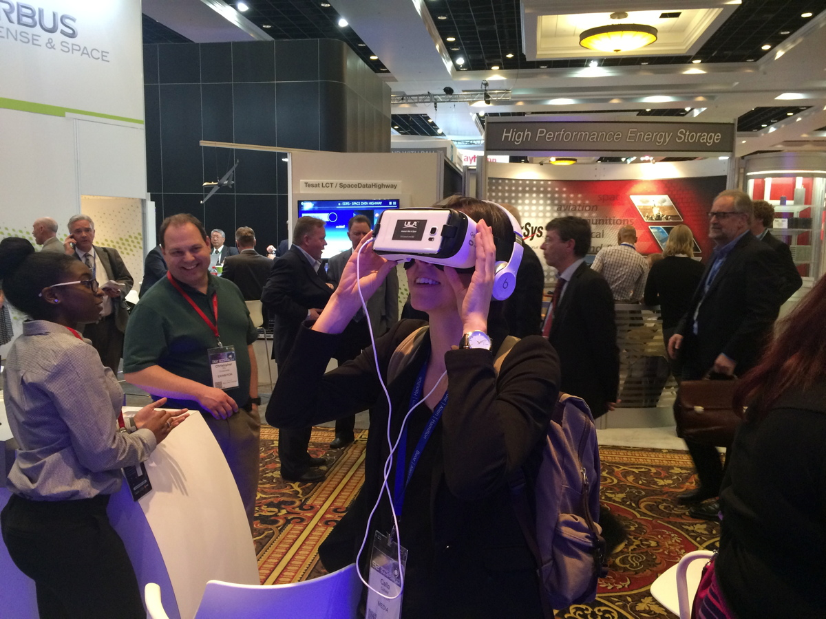 Virtual Reality Comes to Spaceflight: Rocket Tours and Walks on Mars