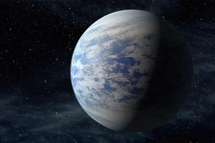 Super-Earth Kepler-69c impression