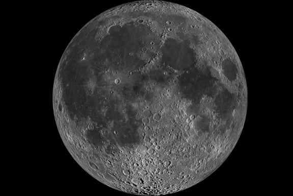 The moon is gray. This fact will not change on Apr 20, 2016.