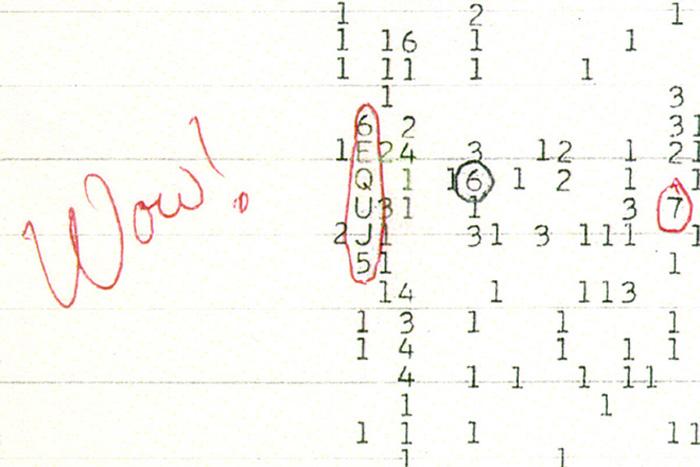 """""""Wow!"""" signal printout"""