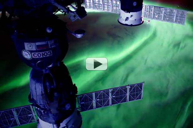 Intricate Aurora Details Seen From Space | UHD Video Montage