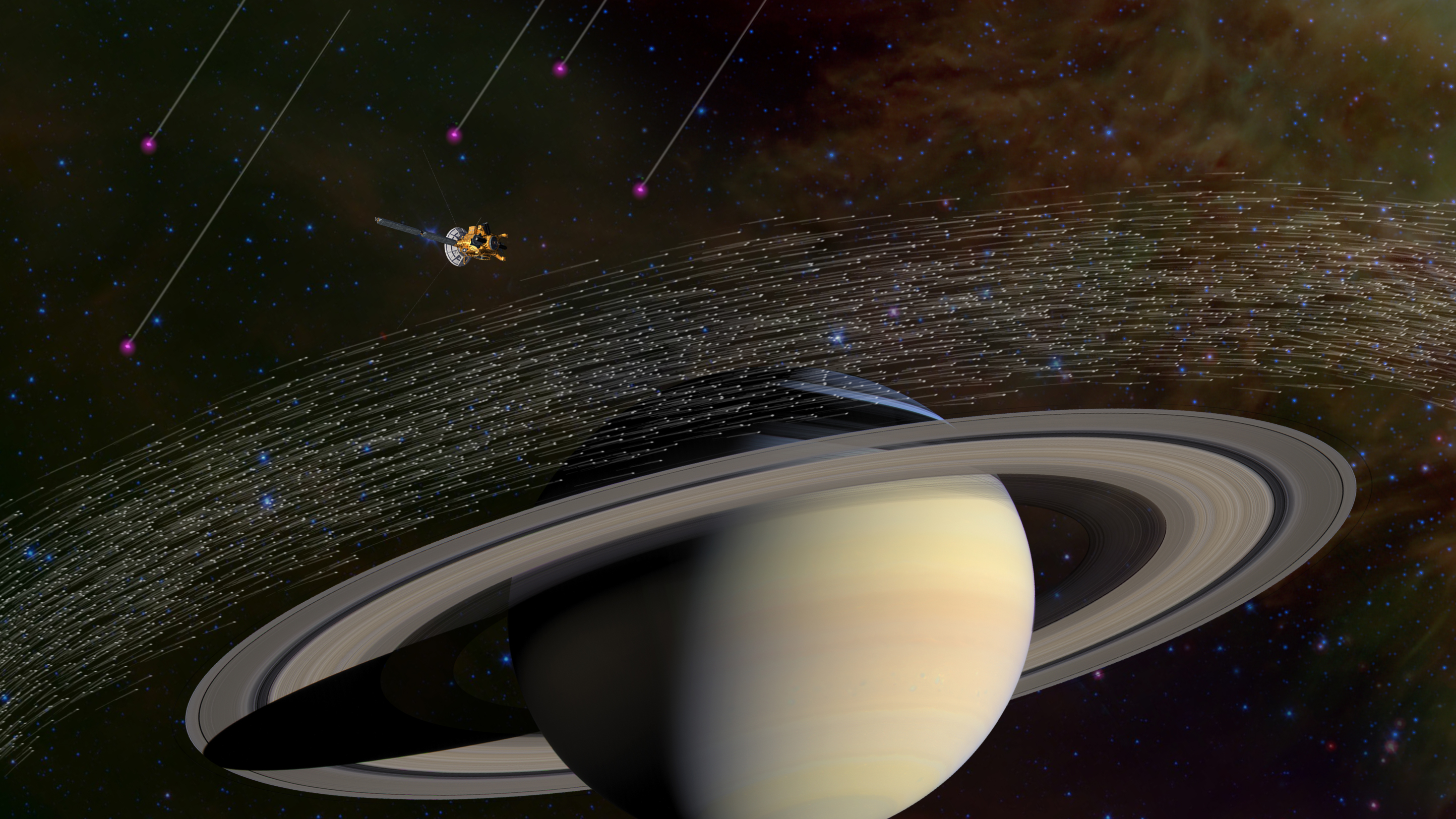 Interstellar Dust Found at Saturn