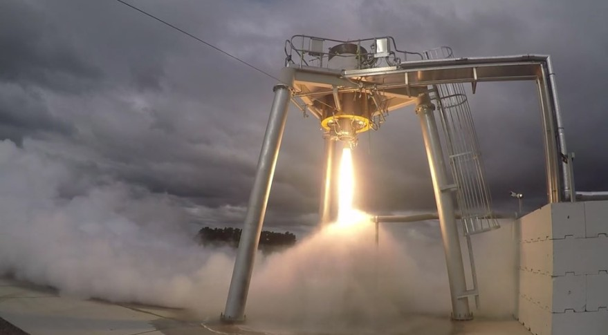 Rocket Lab Test Firing Second Stage
