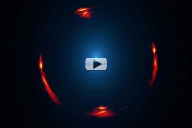 Distant Dark Dwarf Galaxy Revealed By Gravitational Lens | Video