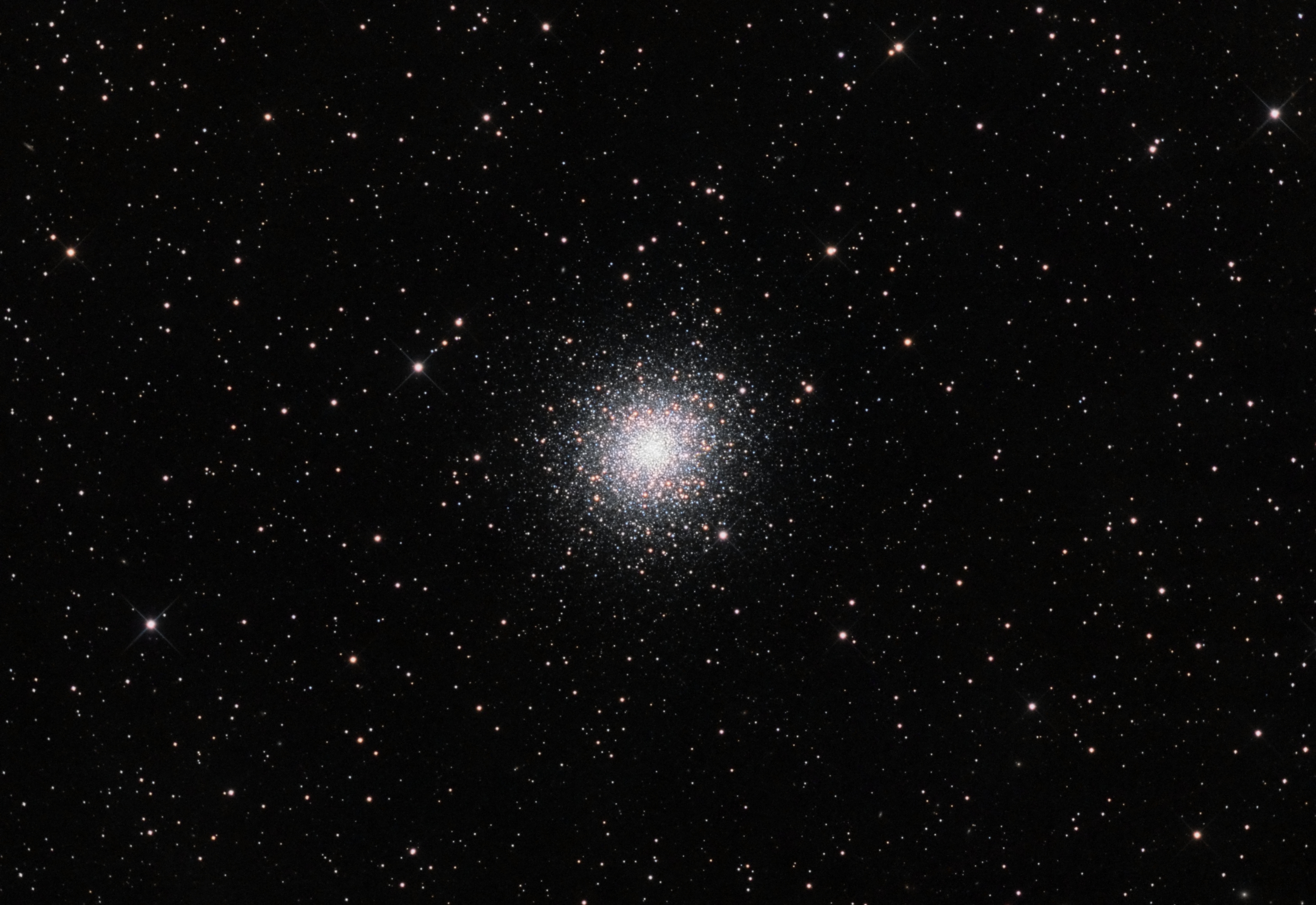 Globular Cluster M2 by Ron Brecher