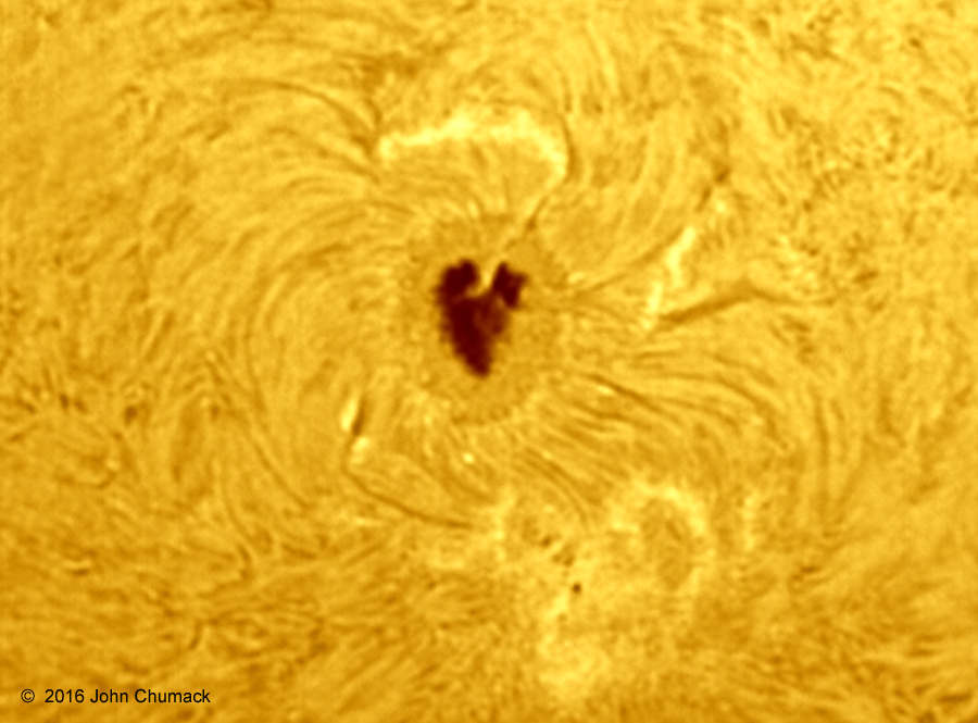 Sunspot AR2529 by Chumack