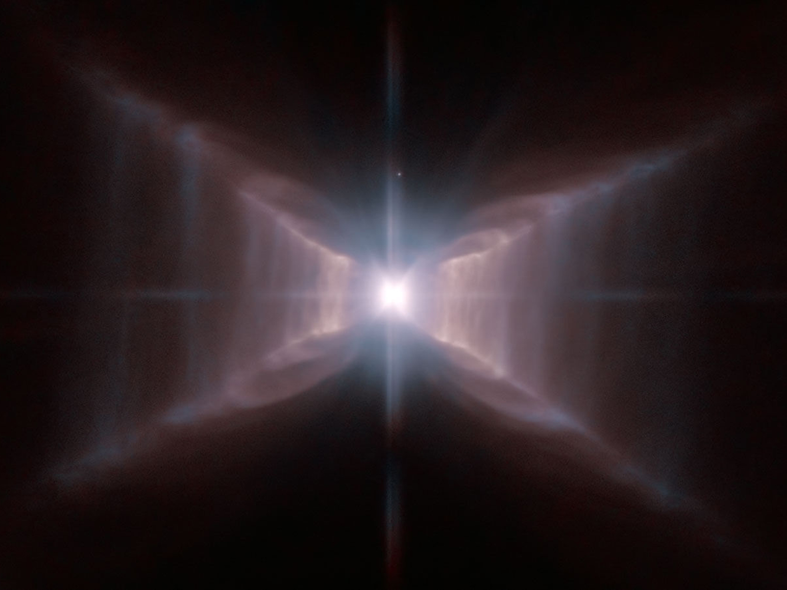 The Red Rectangle from Hubble | Space Wallpaper