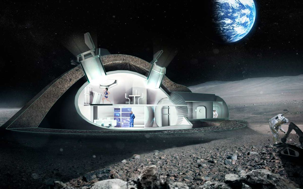 Europe Aiming for International 'Moon Village'