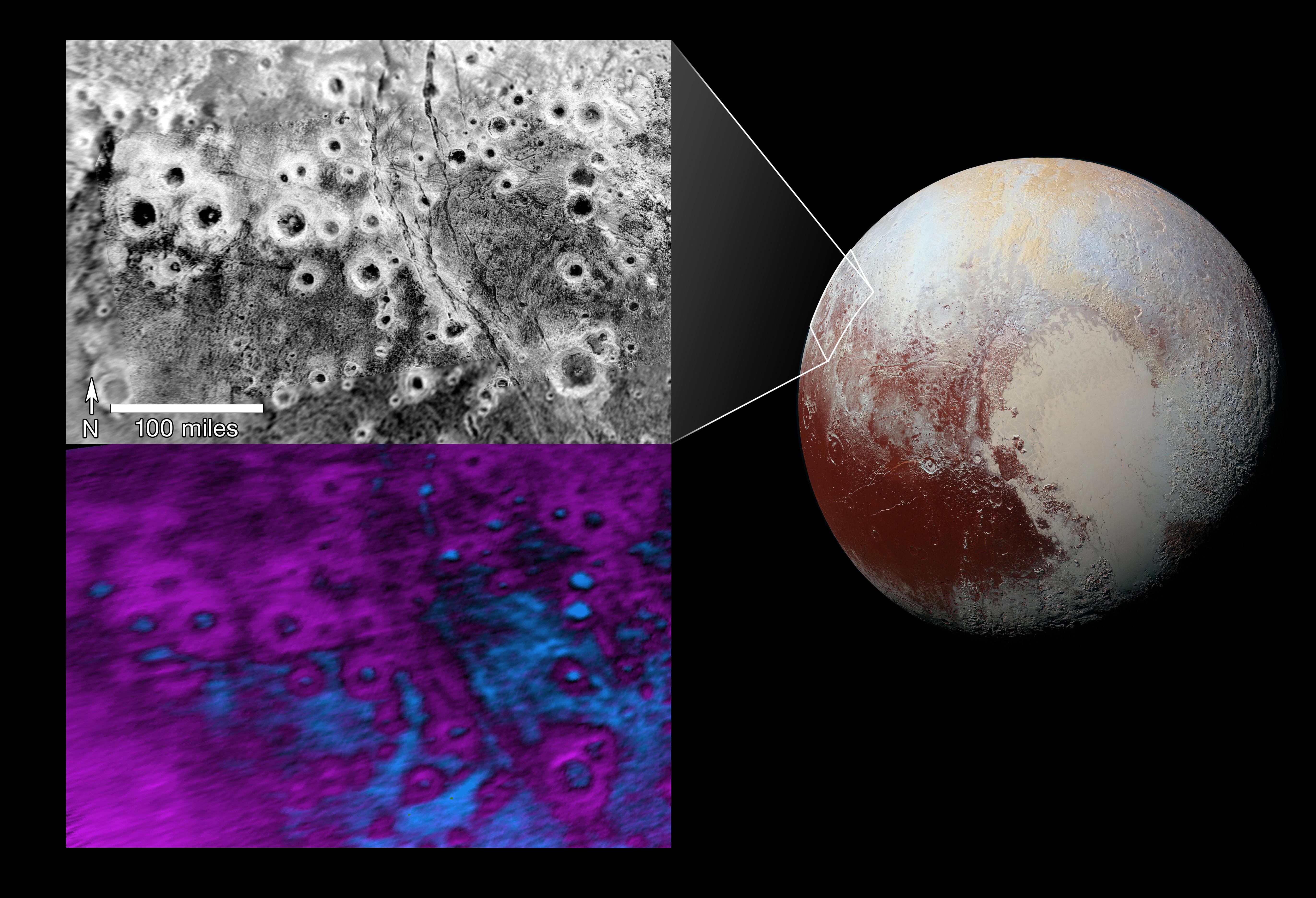 Halos on Pluto