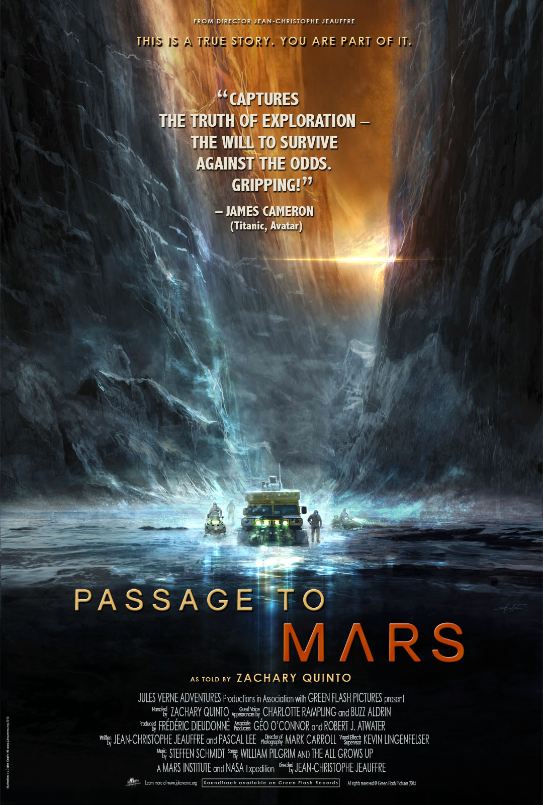 Passage to Mars Film poster