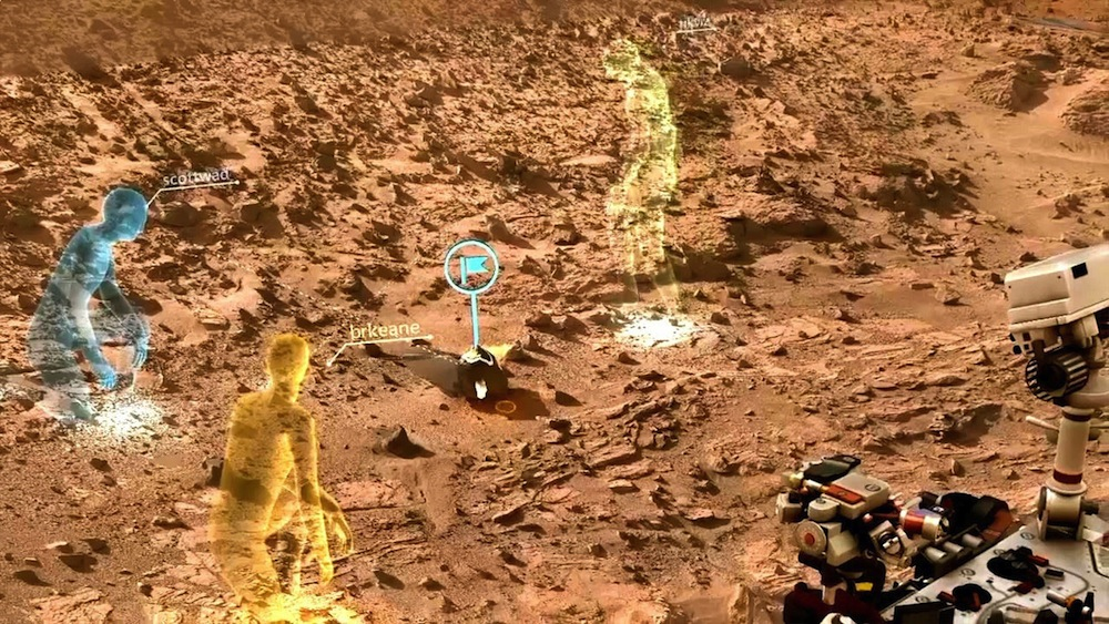 Mars Comes to Earth: Scientists 'Visit' Red Planet with Augmented Reality