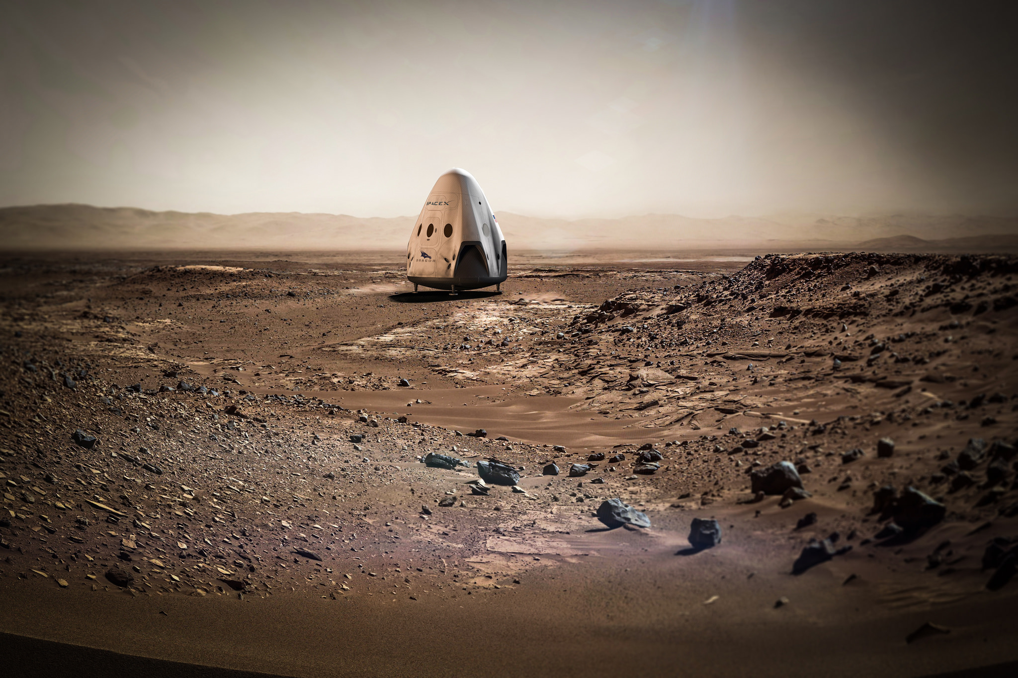 SpaceX's Red Dragon: A Private Mars Mission Plan in Pictures