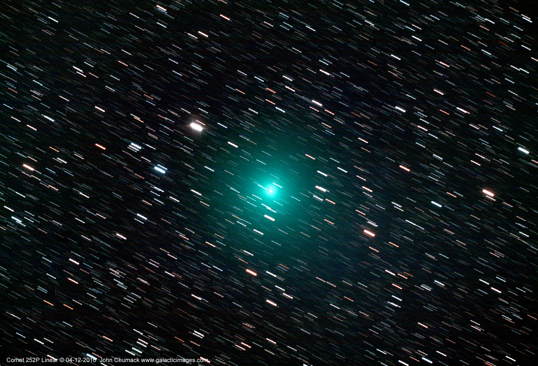 Green Comet Thrills Amateur Astronomer (Photo)