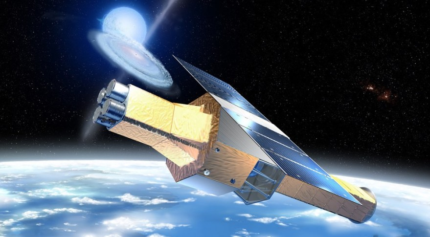 Hitomi Satellite: Artist's Concept