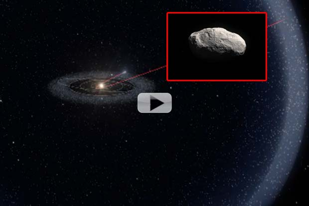 Tailless Comet Is 'Time Capsule' From Earth Formation Era | Video