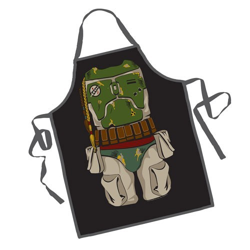 "Even the scum of the galaxy has to cook occasionally. <a href=""http://store.space.com/star-wars-boba-fett-be-the-character-apron.html?&ICID=SPACE-gift-guide-2016"" rel=""nofollow"" target=""_blank"">Buy Boba Fett Apron</a>"