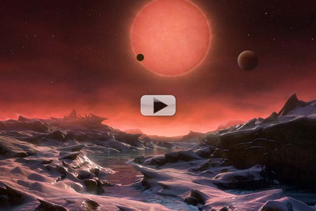 Three Nearby Alien Planets Could Host Life, Only 40 Light-Years Away | Video
