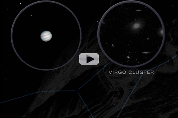 Jupiter, Virgo Cluster and More In May 2016 Skywatching | Video