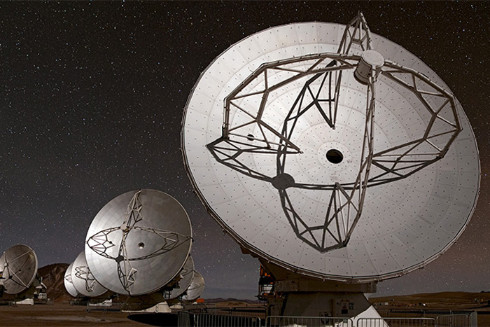 Atacama Large Millimeter/submillimeter Array (ALMA) antennae
