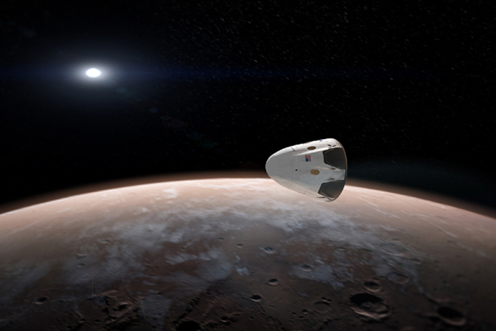 Will SpaceX Get People to Mars Before NASA?
