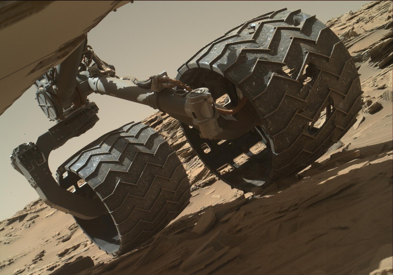Mars Rover Wheel Check