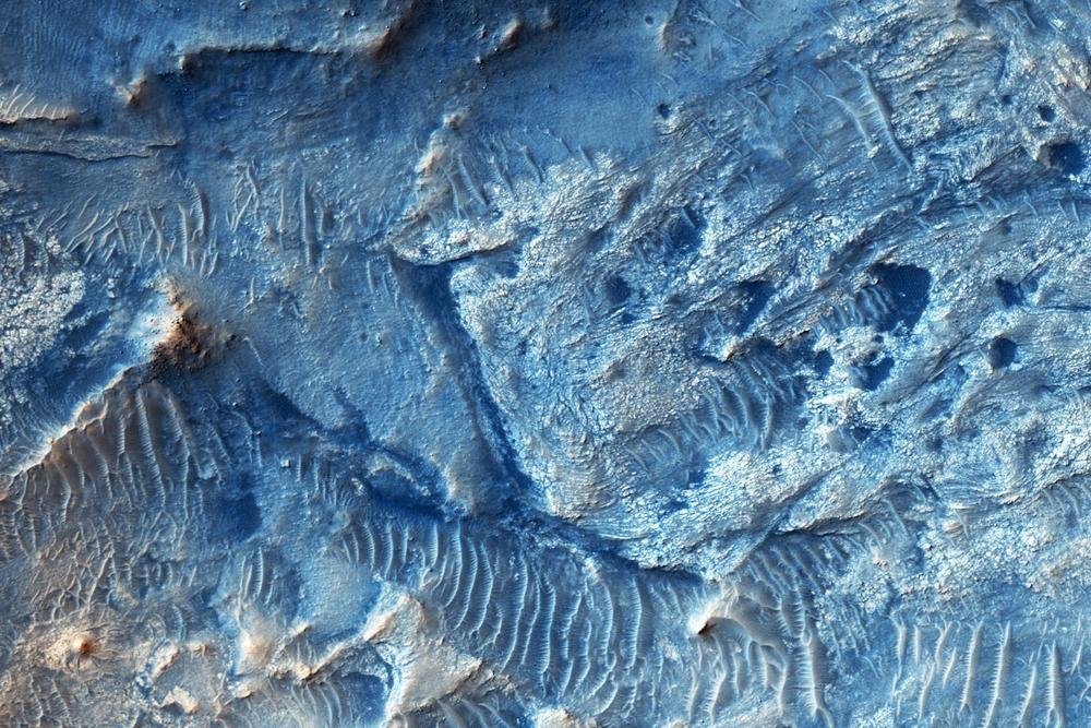 Mars' Jezero Crater | Space Wallpaper
