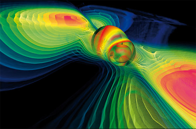 Gravitational Waves: Computer Simulation