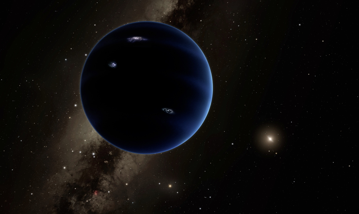 Artist's Illustration of Planet Nine