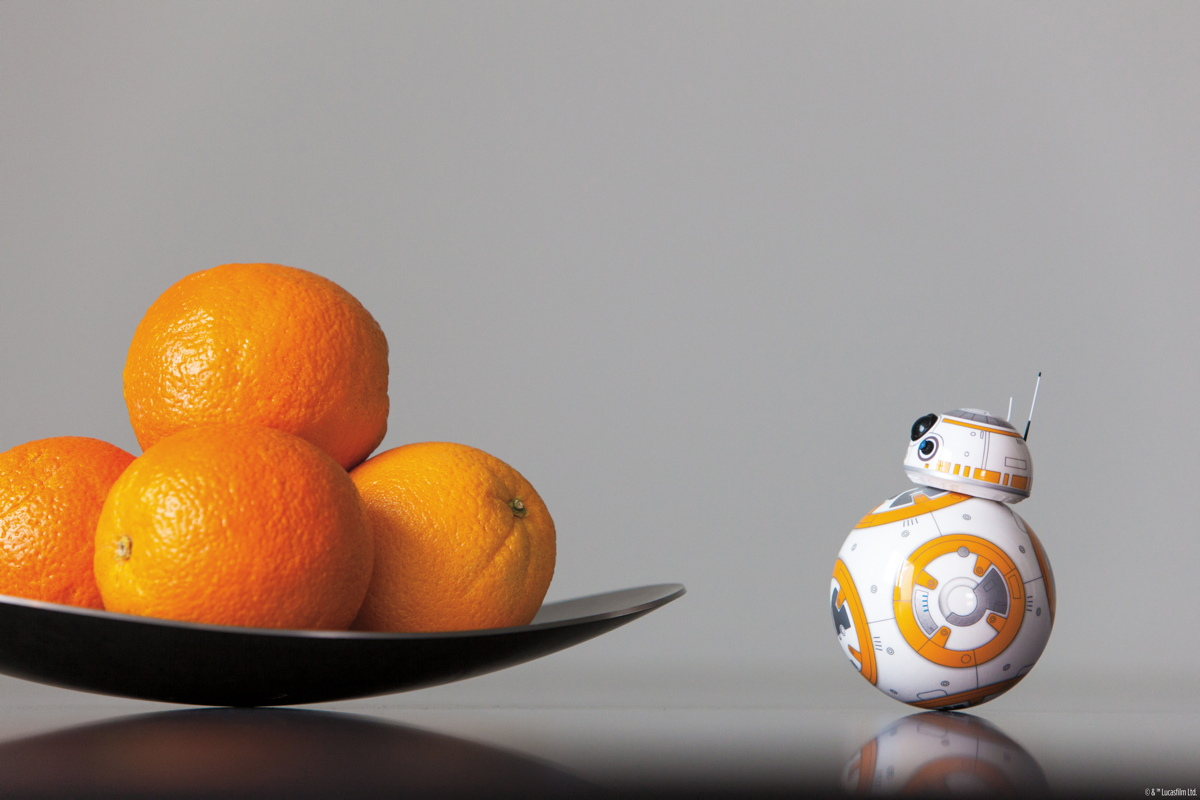 """The BB-8 app-enabled droid is one of many """"Star Wars"""" products available in the Space.com store."""