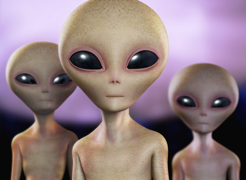Artist's Concept of Intelligent Aliens