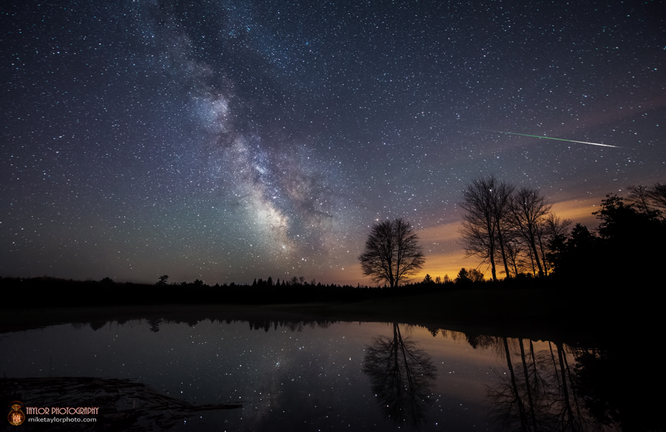 Meteor Shower from Halley's Comet Peaks Tonight: See the Slooh Webcast
